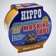 hippo-38mm-clean-edge-masking-tape-41mtr-ref-h18441