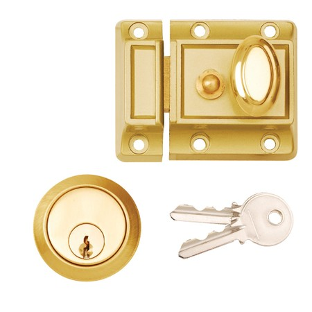 60mm PCP Traditional Narrow Style Night Latch