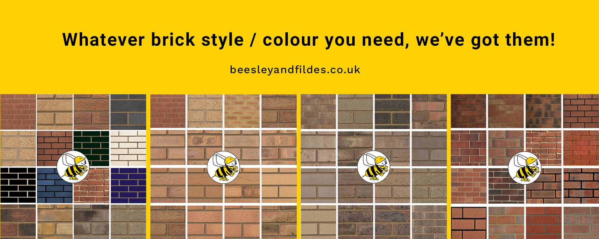 Buy Bricks - Beesley & Fildes - Builders Merchant - Chester