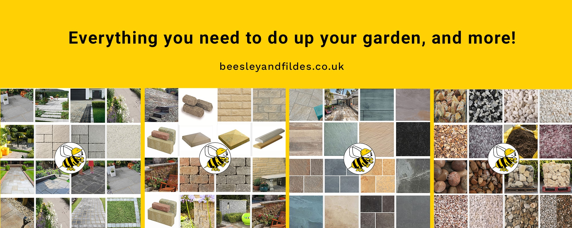 Buy landscaping materials - Beesley & Fildes - swinton - Builders Merchant