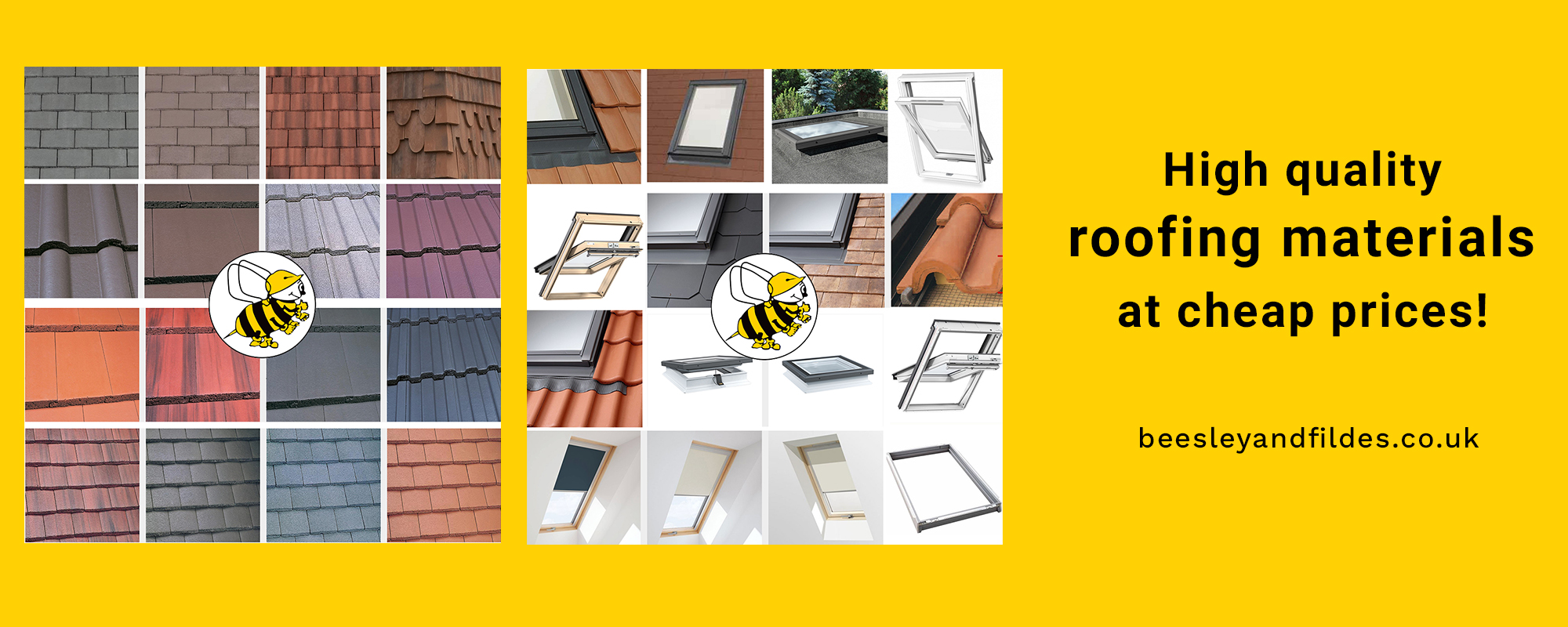 Buy roofing materials - Beesley & Fildes - Builder's Merchant - swinton